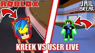 Download 1v1 USER vs KREEKCRAFT | 🔴 Roblox Jailbreak UPDATE LIVE! Video