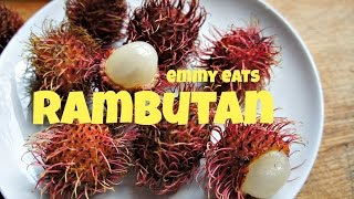 Download Tasting Rambutan - the hairy fruit Video