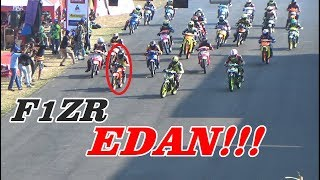 Download KELAS BEBEK 125 STD YAMAHA F1ZR RAJA NYA DI INDOCLUB SUBANG 2018 [OPEN] Video