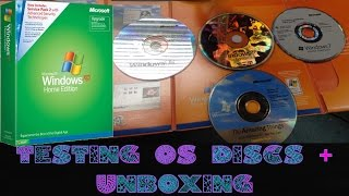 Download Testing OS Discs Part 1 + WinXP Unboxing (98, XP & 7) Video