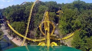 Download Loch Ness Monster front seat on-ride HD POV @60fps Busch Gardens Williamsburg Video
