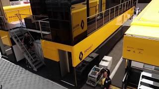 Download F1 Paddocks with Peter Windsor - Barcelona motorhomes uncut Video