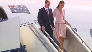 Download Royals Arrive In Adelaide, South Australia | FULL Arrival Footage Video