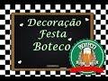 Download Decoração Festa do Marido Tema Boteco #Nessapor7Dias *2 Video