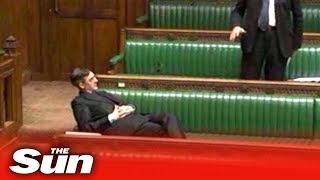 Download Jacob Rees-Mogg has MPs in stitches at his first House business questions Video
