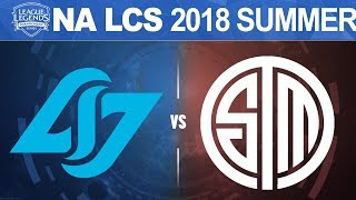 Download CLG vs TSM - NA LCS 2018 Summer Split W8D1 - Counter Logic Gaming vs Team SoloMid Video