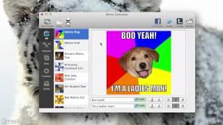 Download Mac OS X Meme Generator and Rage Comics Video
