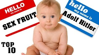 Download Top 10 Illegal Baby Names Video