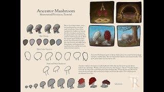Download Ancestor Mushrooms Concept Art Creation Video