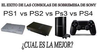 Download PS3 ¿ES LA MEJOR DE TODAS? FELICIDADES SONY - PS1 VS PS2 VS PS3 VS PS4 ¿CUAL ES LA MEJOR? Video