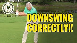 Download How To Start The Golf Downswing Correctly Video