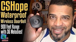 Download CSHope Wireless Doorbell 🔔 : LGTV Review Video