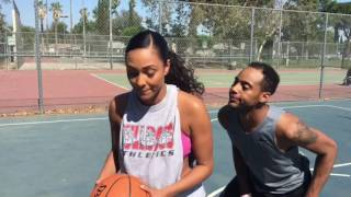 Download When Bae can actually hoop. Video