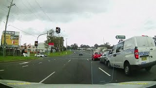 Download Police Car causes 3 car Crash - Prospect N.S.W - Caught on Dash Cam Video
