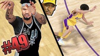 Download Scoring 90+ Points vs Lonzo Ball! Most Intense Game of the Season! NBA 2k18 MyCAREER Ep. 49 Video