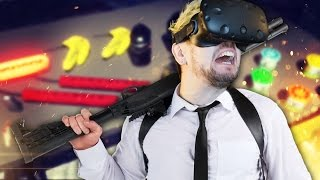 Download DON'T TRUST JACK WITH GUNS | Hot Dogs Horseshoes & Hand Grenades (HTC Vive Virtual Reality) Video