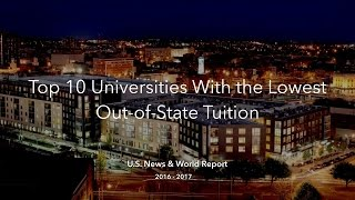 Download Top 10 Universities With the Cheapest Out-of-State Tuition Video