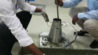 Download Slump Cone Test of concrete - Civil Engineering lab experiment Video