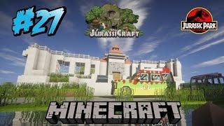 Download NUEVO CENTRO DE VISITANTES !!!! - Jurassicraft #27 Video
