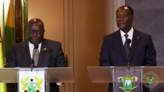 Download President Arrives in Ivory Coast Video