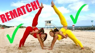 Download Big sisters VS Little sisters EXTREME YOGA CHALLENGE! REMATCH! Video