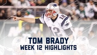 Download Tom Brady's Clutch 200th Career Win! | Patriots vs. Jets | NFL Week 12 Player Highlights Video