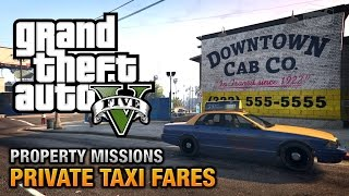 Download GTA 5 - Private Taxi Fares [All's Fare in Love and War Achievement / Trophy] Video