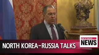 Download Russia's top diplomat plans on North Korea visit this month Video