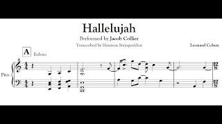 Download Hallelujah - Jacob Collier transcription Video