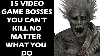 Download 15 Video Game Bosses You Can't Defeat No Matter What You Do Video