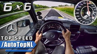 Download MERCEDES G63 AMG 6X6 AUTOBAHN POV ACCELERATION & TOP SPEED by AutoTopNL Video