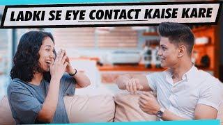 Download LADKI Se EYE CONTACT Kaise Kare | 5 Eye Contact Tips for Shy Boys in Hindi | Mayank Bhattacharya Video