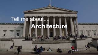 Download Tell me about Architecture at The Bartlett Video