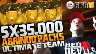 Download FIFA 15 ULTIMATE TEAM - ABRINDO PACKS 5X35K - ATÉ QUE ENFIM POXA VIDA !!!! [XBOX ONE e PS4] Video