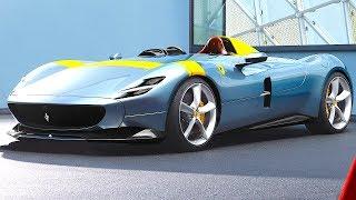 Download Ferrari Monza SP1 World Premiere Live Maranello 2019 Ferrari ICONA Car CARJAM Video