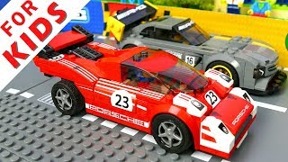 Download LEGO Cars Race and Experimental Cars Compilation Lego Stop Motion Animation Video