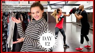 Download WARDROBE CLEAROUT & BOXING WORKOUT | Vlogmas #12 Video