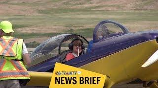 Download Kids take to the skies Video