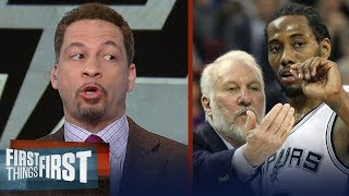 Download Chris Broussard reveals Gregg Popovich's role in the Spurs' Kawhi Leonard saga   FIRST THINGS FIRST Video