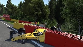 Download F1 2016 GAME SPECTACULAR/REALISTIC & UNBELIEVEBALE CRASHES!!! Video