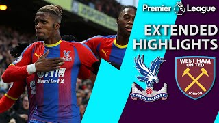 Download Crystal Palace v. West Ham | PREMIER LEAGUE EXTENDED HIGHLIGHTS | 2/9/19 | NBC Sports Video