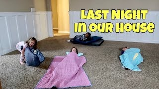 Download 24 Hours in our EMPTY HOUSE   Last Night in our House Video