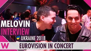 Download MELOVIN (Ukraine 2018) Interview | Eurovision in Concert 2018 Video