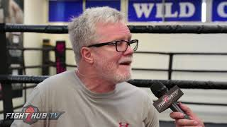 Download FREDDIE ROACH ″GOLOVKIN IS TOO BIG....TOO BIG OF A PUNCHER!″ Video