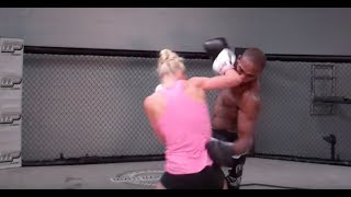 Download Holly Holm and Jon Jones Training Together Video