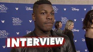 Download Star Wars: The Last Jedi: John Boyega and Gwendoline Christie D23 Reaction Interview Video