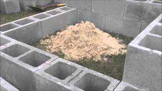 Download Cinder block Fire pit Video