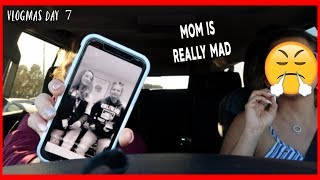 Download MY MOM IS GOING TO TAKE MY NEW PHONE AWAY , SHE IS REALLY MAD BECAUSE OF THIS .... | VLOGMAS DAY 7 Video