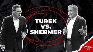 Download Debate: What Best Explains Reality: Theism or Atheism? (Frank Turek vs. Michael Shermer) Video