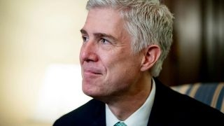 Download Justice Gorsuch spends his first day on the Supreme Court Video